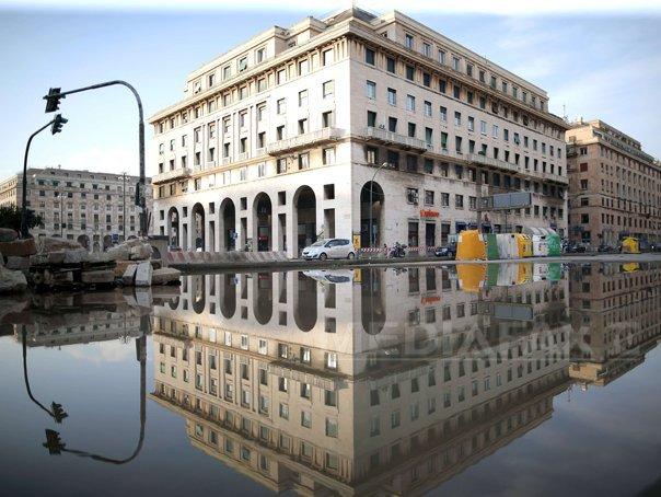 Trenuri blocate la Genova, statii de metrou inundate la Madrid si pagube �n Franta din cauza ploilor
