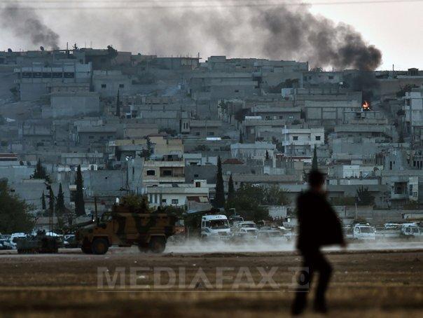Combatantii kurzi controleaza cea mai mare parte a orasului sirian Kobane