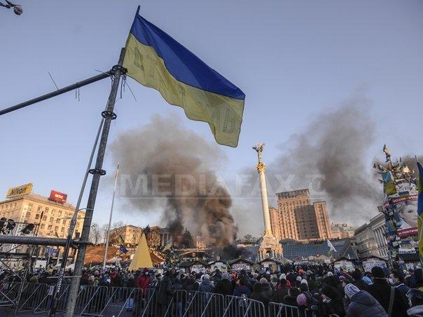 CRONOLOGIE: Principalele etape ale crizei declansate �n Ucraina �n noiembrie 2013