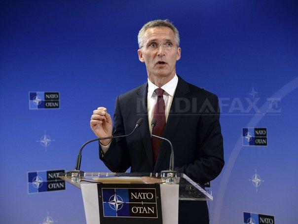 Secretarul general NATO cere Rusiei sa retraga trupele din Ucraina si de la frontierele acestei tari