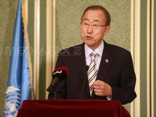 Ban Ki-Moon condamnă planul separatiştilor de a organiza alegeri �n estul Ucrainei