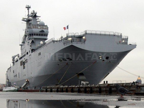 Conditiile pentru livrarea primei nave Mistral Rusiei