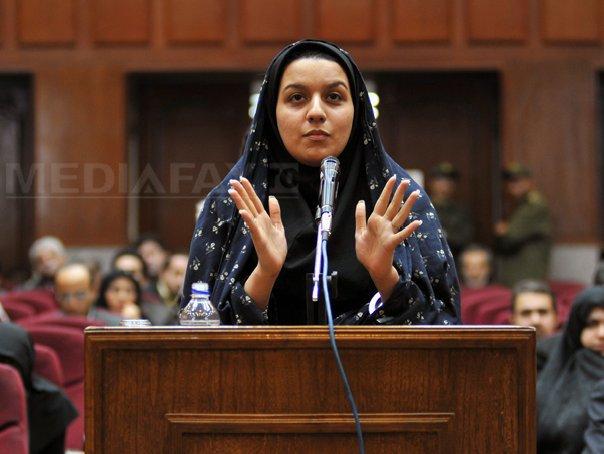 T�nara iraniana Reyhaneh Jabbari executata s�mbata �i ceruse mamei sale sa-i doneze organele