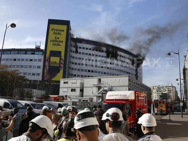 Angajatii Radio France, evacuati din cauza unui incendiu la Casa Radio din Paris