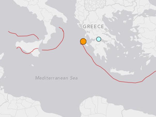 Cutremur cu magnitudinea de 4,8 grade pe scara Richter �n sudul Greciei