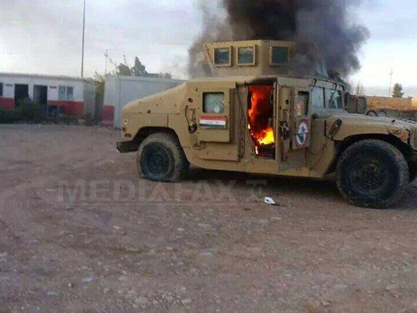 Fortele guvernamentele si militii siite au reluat controlul asupra unui baraj important din Irak