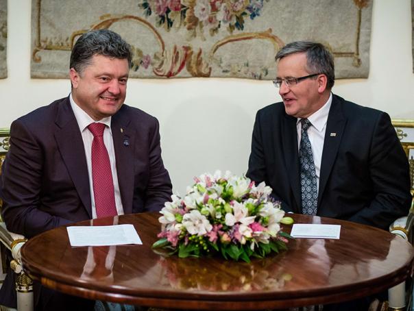 Presedintele Poloniei si cel al Ucrainei se afla �n vizita oficiala la Chisinau
