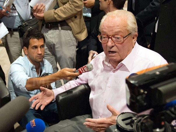 Jean-Marie Le Pen, condamnat în apel pentru declaraţii rasiste despre romi