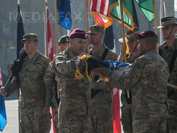 Ceremonie la Kabul, pentru �ncheierea misiunii combatante a NATO �n Afganistan