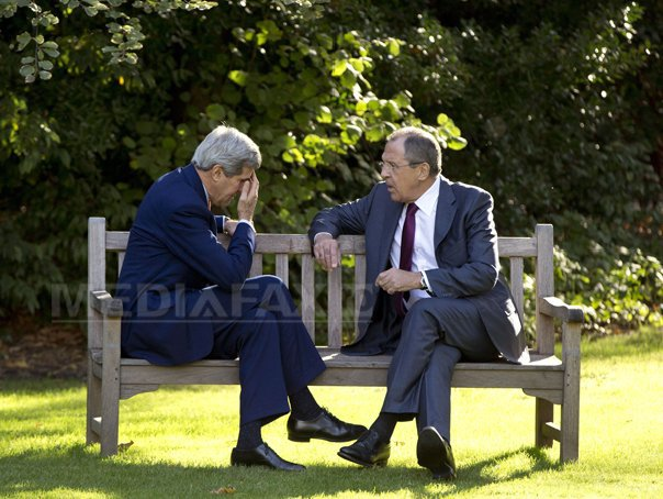 John Kerry se va �nt�lni luni, la Roma, cu Serghei Lavrov