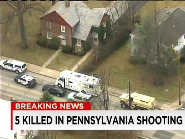 Incidente armate �n apropiere de Philadelphia: Şase persoane au fost ucise - VIDEO