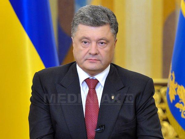 Poroseko depl�nge o criza umanitara �n estul Ucrainei, din cauza agresiunii ruse