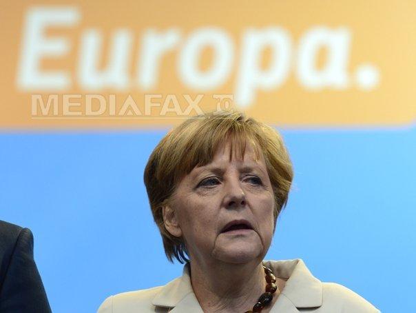 Angela Merkel: Sanctiunile �mpotriva Rusiei ram�n inevitabile