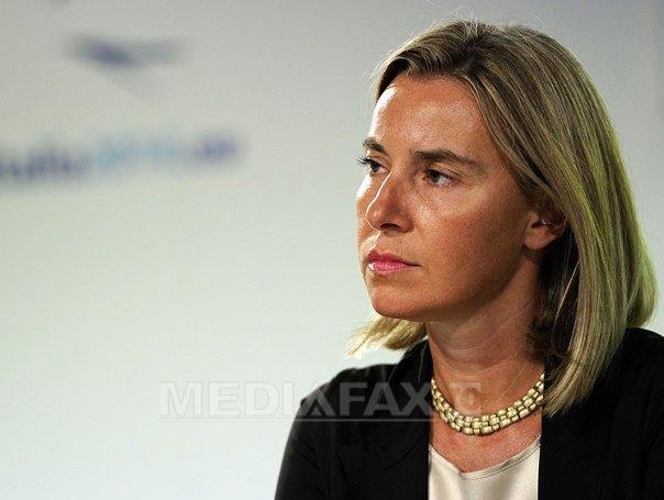 Mogherini a transmis condoleante pentru decesul marinarului rom�n �n urma atacului armat din Libia