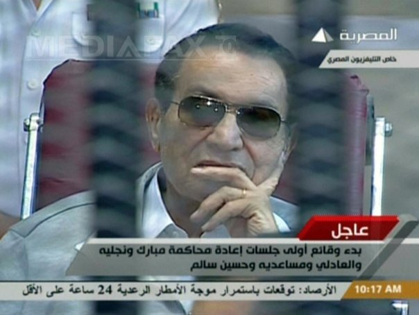 Hosni Mubarak va fi rejudecat pentru coruptie. Curtea de Casatie i-a anulat condamnarea