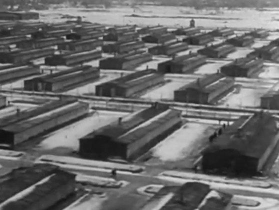 Imaginea articolului Imagini filmate de Alfred Hitchcock în lagărele naziste, difuzate în premieră - VIDEO