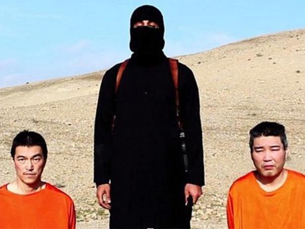 Gruparea SI ameninta ca va ucide doi ostatici japonezi daca nu primeste rascumparare 200 de milioane de dolari - VIDEO