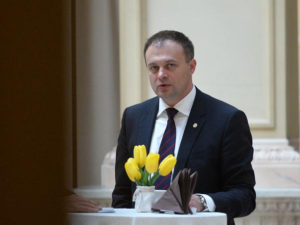 Andrian Candu, ales presedinte al Parlamentului Republicii Moldova