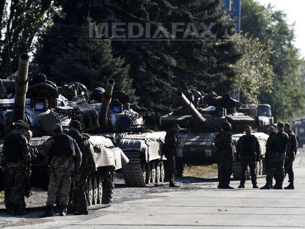NATO, UE si SUA someaza Rusia sa �nceteze urgent sustinerea acordata rebelilor din Ucraina: