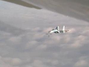 Cum INTERCEPTEAZĂ ruşii avioanele străine de luptă - VIDEO