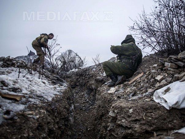 Bruiajul si artileria ghidata de drone avantajeaza separatistii ucraineni