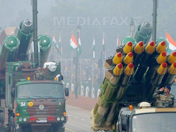 India a testat cu succes lansatorul mobil pentru rachetele nucleare cu rază lungă de acţiune. Rachetele pot atinge orice ţintă din China