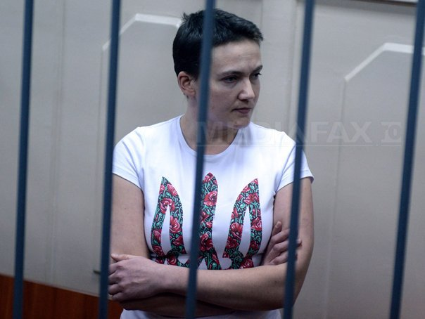 Deputaţi ai Radei Supreme a Ucrainei au îndemnat-o pe Nadia Savcenko să renunţe la greva foamei