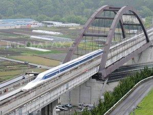 Cum arată trenul care circulă cu 590 de kilometri pe oră - VIDEO