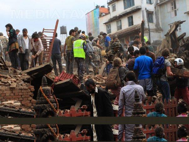 Aproximativ 300.000 de străini se aflau în Nepal în momentul producerii cutremurului