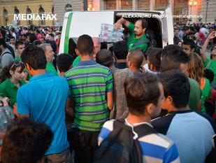 Imaginea articolului Confruntări la Keleti între presupuşi fani ai echipei de fotbal a Ungariei şi imigranţi