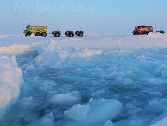 Imaginea articolului Fenomen rar la Polul Nord: Temperatura a depăşit 0 grade, după o creştere cu aproape 40 de grade