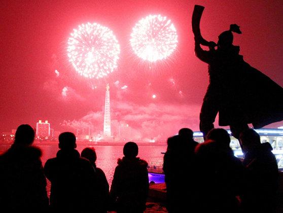 Imaginea articolului Artificiile de Revelion au fost AMÂNATE cu o zi în Coreea de Nord - VIDEO