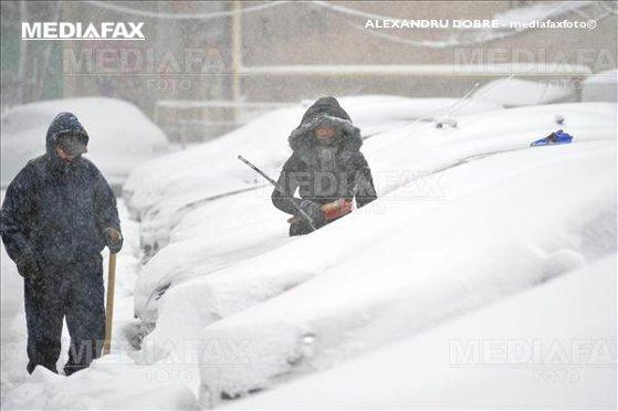 Imaginea articolului Europa de Est, afectată de furtuni de zăpadă şi rafale violente de vânt