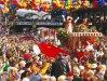 Imaginea articolului Jurnalistă belgiană, hărţuită în timpul unei transmisiuni în direct de la carnavalul din Koln - FOTO, VIDEO