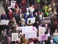 PROTEST în Bosnia-Herţegovina faţă de interdicţia de a purta vălul islamic: Aproximativ 2.000 de femei au ieşit în stradă la Sarajevo - VIDEO