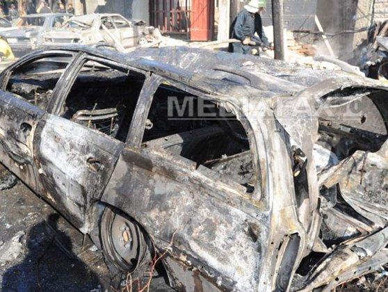 Imaginea articolului Atac cu maşină-capcană în sudul Rusiei: Doi poliţişti au murit