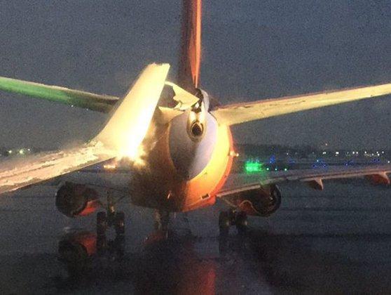 Imaginea articolului INCIDENT aviatic în Statele Unite: Două avioane s-au ciocnit la sol pe aeroportul din Detroit - VIDEO