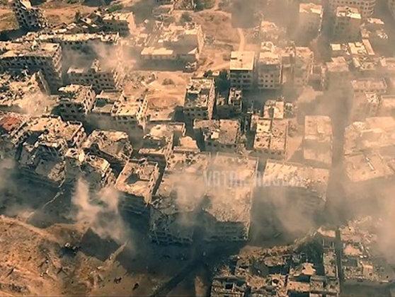 """Imaginea articolului Damascul denunţă bombardamentele turce din nordul provinciei Alep drept """"scandaloase"""""""