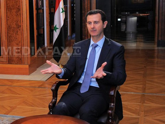 """Imaginea articolului RĂZBOIUL din Siria: Bashar al-Assad se declară pregătit pentru un ARMISTIŢIU, dacă """"teroriştii"""" nu profită de el"""
