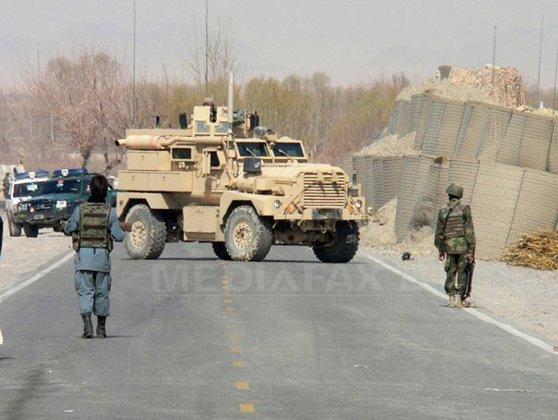 Imaginea articolului O rachetă a căzut într-o bază din Afganistan în care sunt militari români
