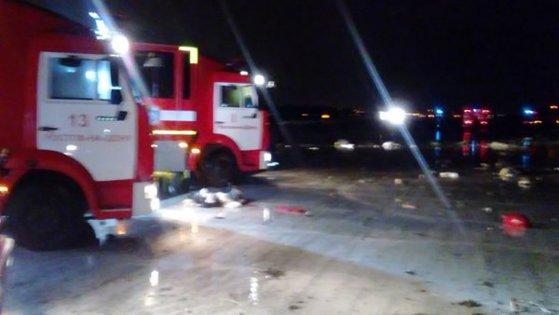 Imaginea articolului 61 de morţi după prăbuşirea unui avion de pasageri în sudul Rusiei. FOTO, VIDEO