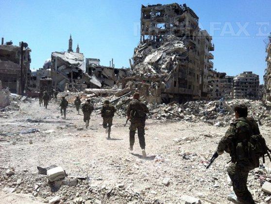 Imaginea articolului Războiul din Siria: Armata redobândeşte oraşul Palmira, care era controlat de reţeaua teroristă Stat Islamic