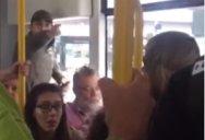 """Scene ŞOCANTE într-un tramvai din Manchester: """"Coboară acum din tramvai, eşti un nenorocit de imigrant"""" - VIDEO"""
