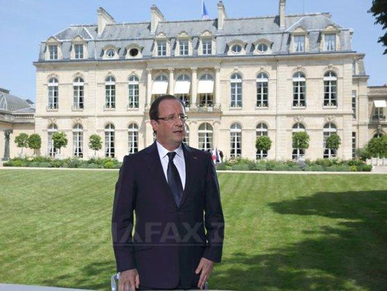 Imaginea articolului Francois Hollande, la Bucureşti. Prima vizită a unui preşedinte francez după 25 de ani