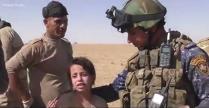 """Fetiţă de 10 ani, salvată în timpul luptelor pentru eliberarea oraşului Mosul: """"Am crezut că nu o sa mai veniţi"""" - VIDEO"""