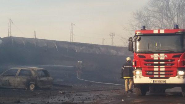 Imaginea articolului ACCIDENT feroviar în Bulgaria: Bilanţul exploziei  a ajuns la 7 morţi/ Cisternele încărcate cu propan erau sigure şi deţinute de o companie românească - Novinite- FOTO, VIDEO