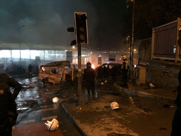 Imaginea articolului VIDEO Explozii puternice în centrul oraşului turc Istanbul, în apropierea Stadionului Beşiktaş. / Cel puţin 13 persoane au murit -surse