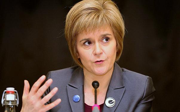 """Imaginea articolului Nicola Sturgeon: Ieşirea de pe piaţa UE va fi """"catastrofală"""", Scoţia va alege alt drum"""