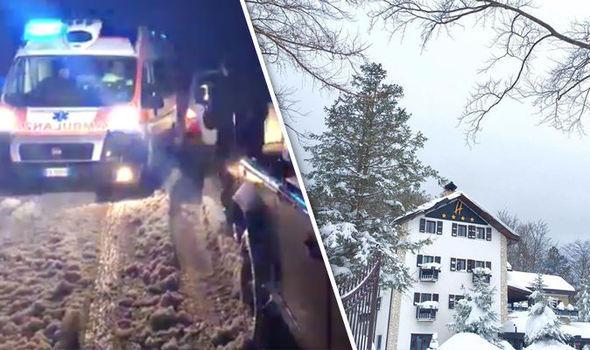 Imaginea articolului VIDEO Românca dispărută în urma avalanşei din Italia şi fiica ei, probabil printre persoanele salvate /  Al doilea copil al româncei ar fi fost scos în viaţă de sub hotel
