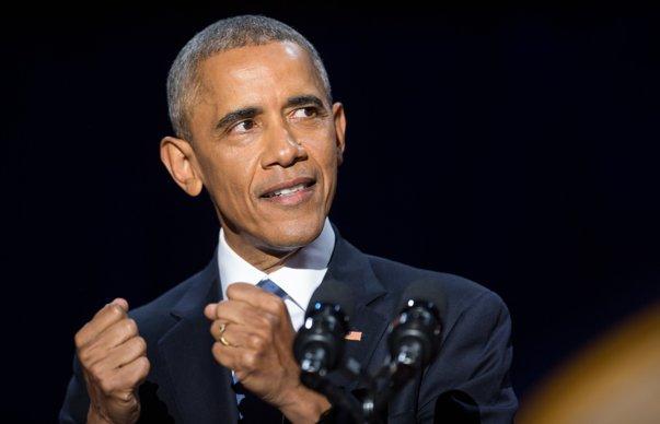 Imaginea articolului Barack Obama a părăsit Biroul Oval pentru ultima dată